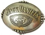 Jack Daniel's Oval Old no.7 Officially Licensed Belt Buckle + display stand
